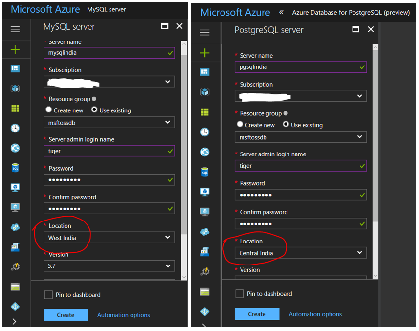 Now available in India: Azure Database for MySQL and Azure