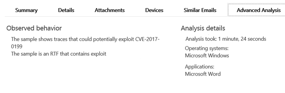 Exploit for CVE-2017-8759 detected and neutralized - Microsoft Security