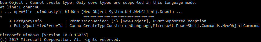powershell-contrained-mode