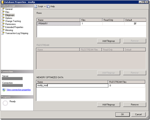 Getting Started with SQL Server 2014 In-Memory OLTP
