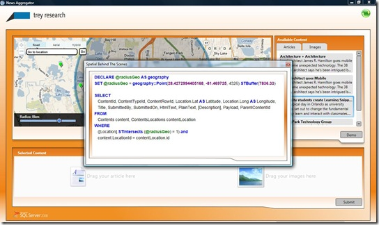 3 - wpf spatial code