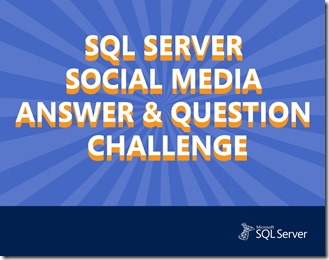 SQL Server Answer & Question Challenge