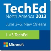 Get Ready for TechEd North America 2013