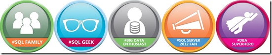 Download SQL Server Community Badges