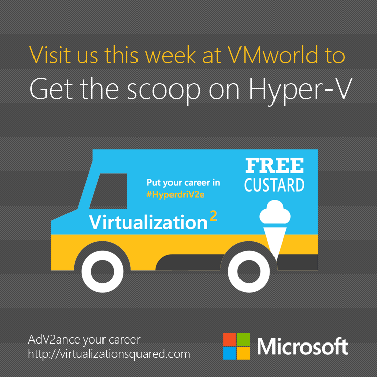Get the scoop on Hyper-V at VMworld