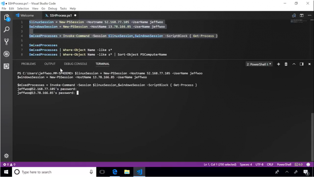 """Recent updates to Project """"Honolulu"""" and PowerShell Core 6 0"""