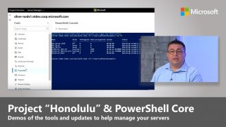 "Recent updates to Project ""Honolulu"" and PowerShell Core 6.0"