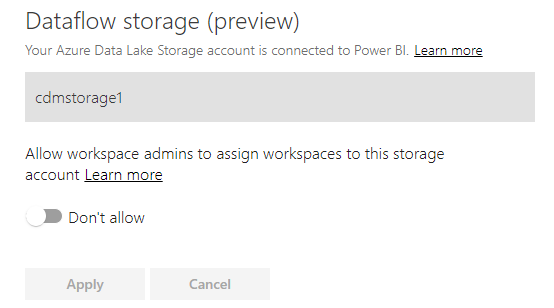 Allow workspaces to use ADLSg2