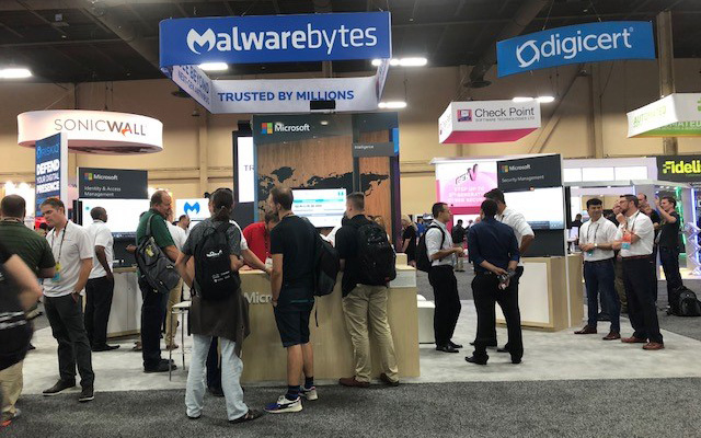 Image of the Black Hat Conference in Las Vegas.