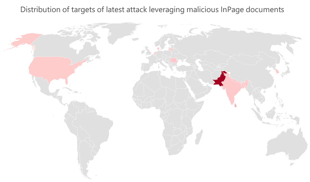 Attack uses malicious InPage document and outdated VLC media player to give attackers backdoor access to targets
