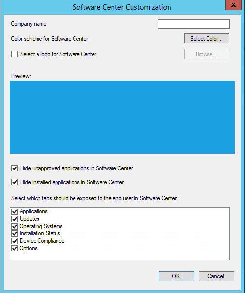 Option to hide unapproved apps in Software Center