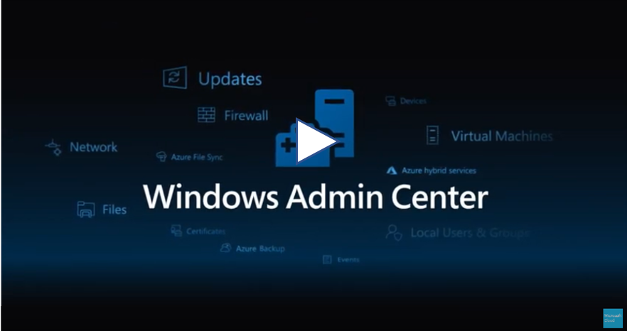 windows admin center preview