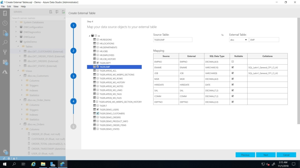Creating a data hub for your analytics with PolyBase - SQL