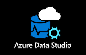 A black icon showing Azure Data Studio