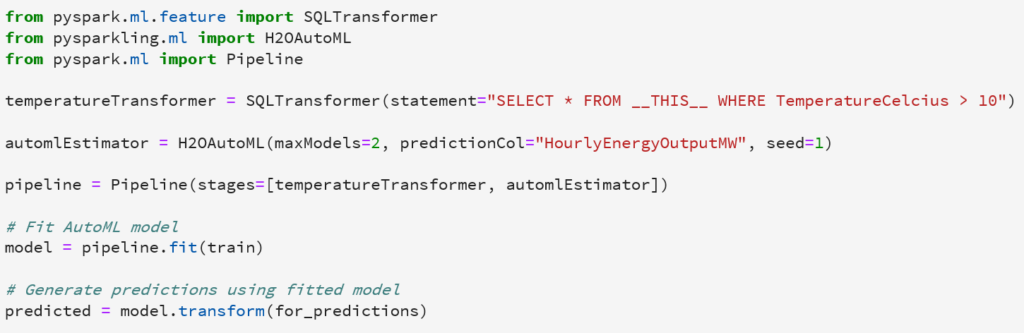 How to automate machine learning on SQL Server 2019 big data clusters