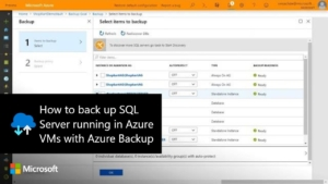 Enterprise-scale Backup for SQL Server Databases
