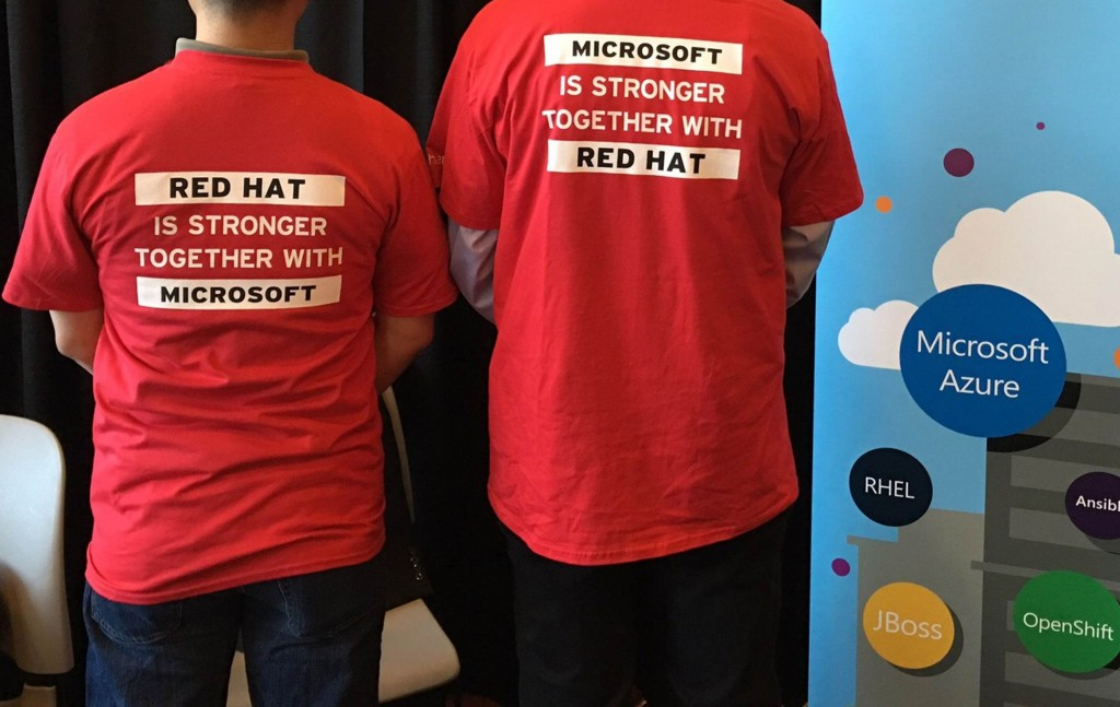 Red Hat + Microsoft = Stronger Together