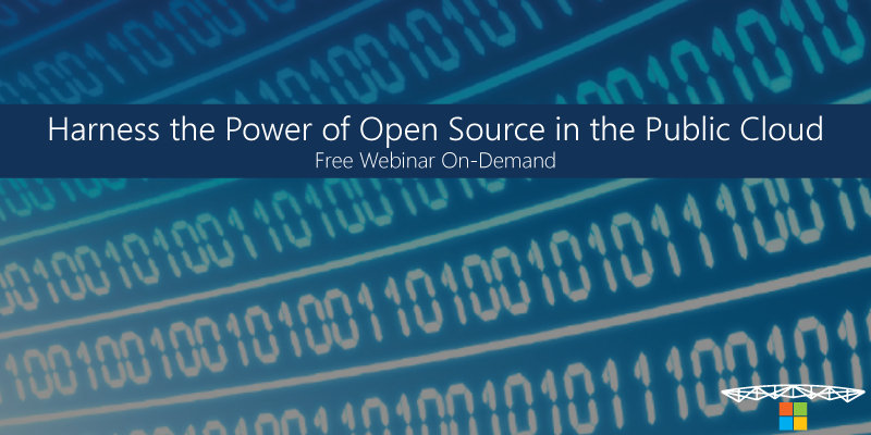 Sign Up Now - Harness the power of open source in the public cloud