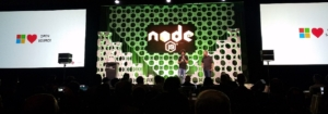 nearform keynote at Node Interactive