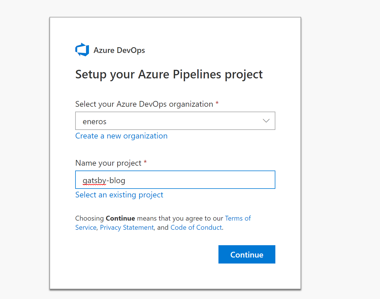 Tutorial: Terraforming your JAMstack on Azure with Gatsby, Azure