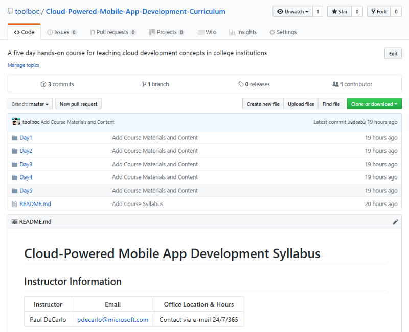 How to teach cloud-powered mobile app development to students - Open