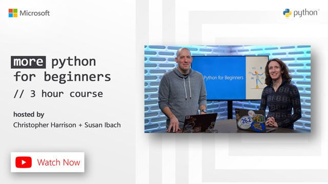 more python for beginners promotional image