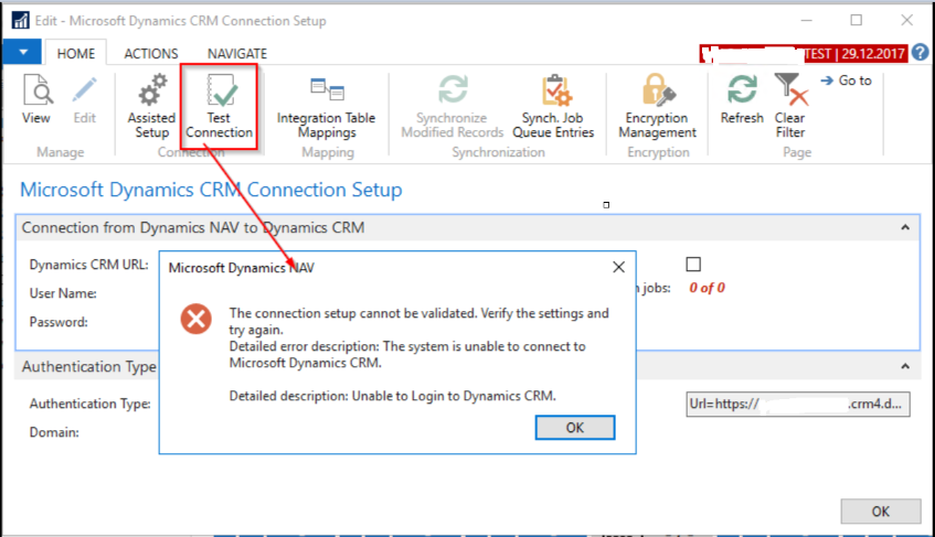 Connecting to Microsoft Dynamics 365 for Sales Version 9 0