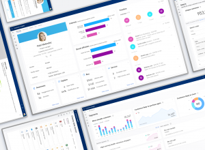 Dynamics 365 Customer Insights dashboard.