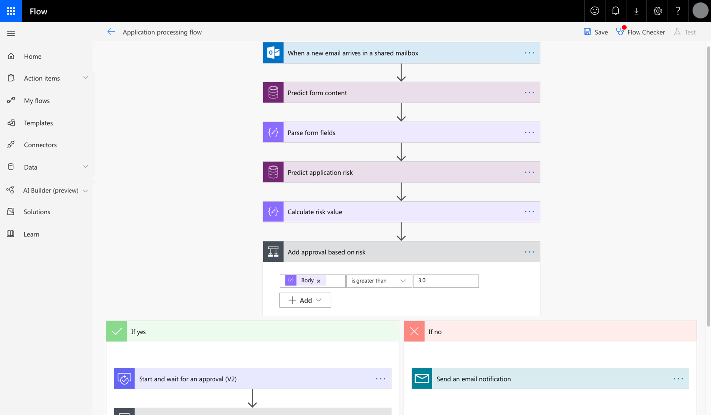 Microsoft Flow enables users to automatically process and route analog forms.