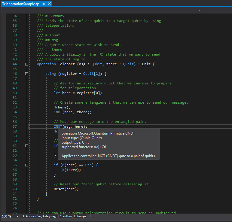 Valuable Hover information with Visual Studio