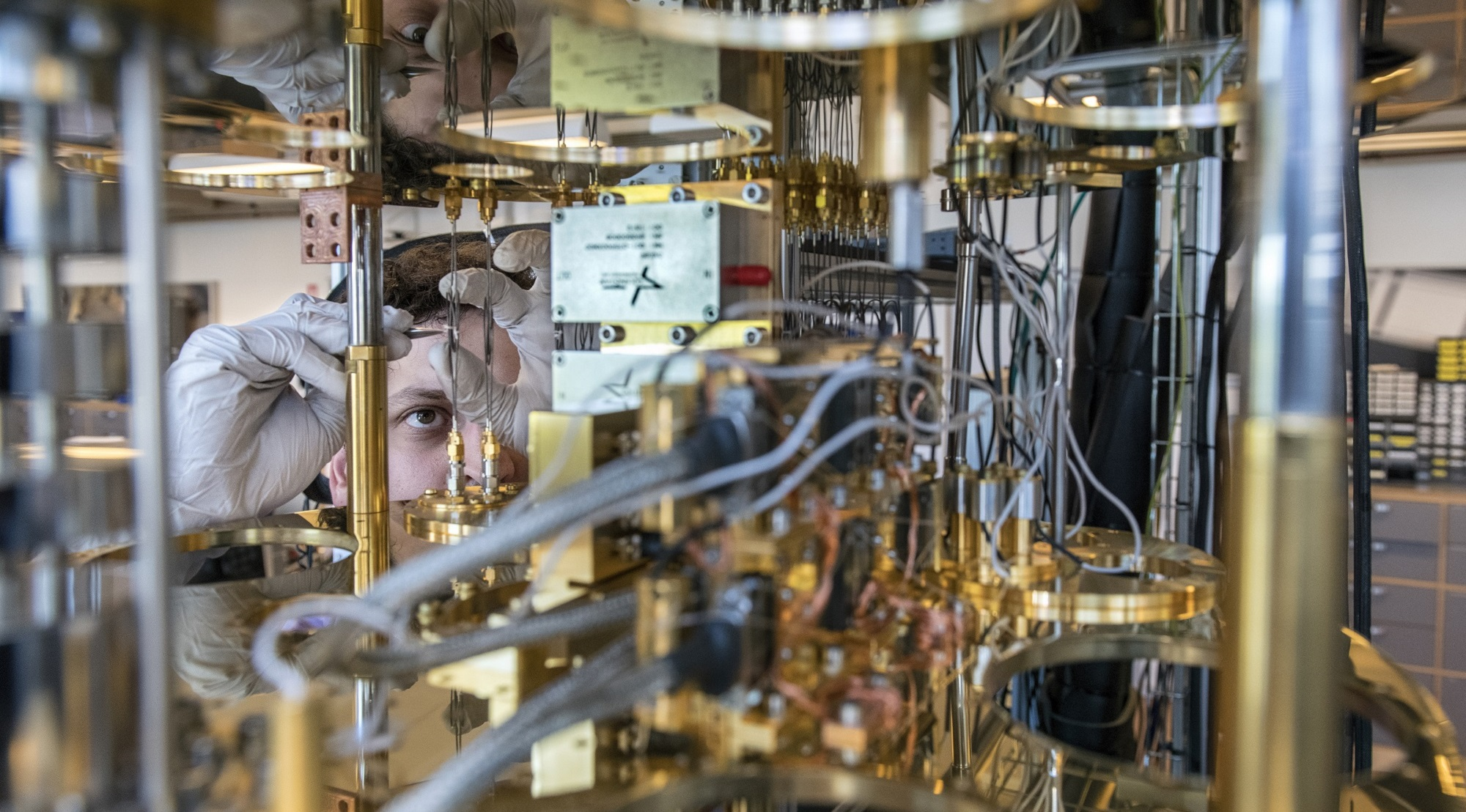 Microsoft Quantum Computing Project in Copenhagen, Denmark. June 2018