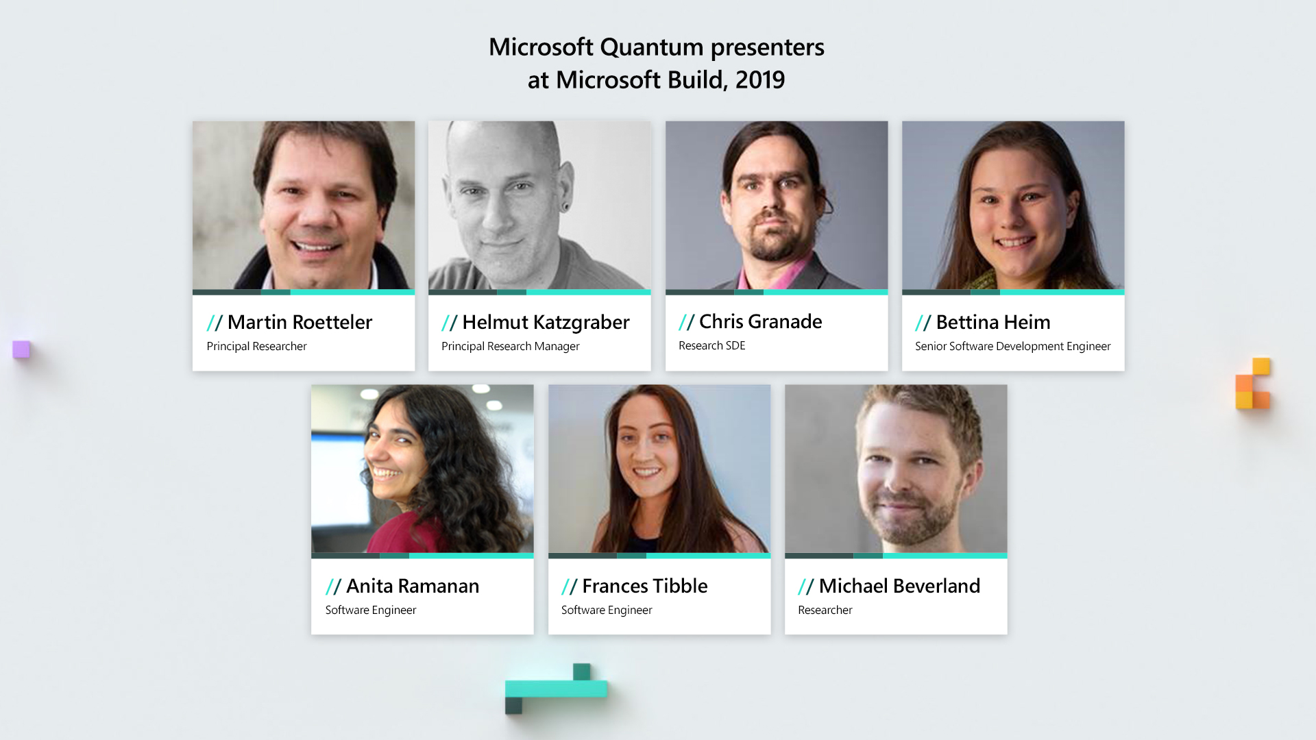 Learn how to develop for Quantum Computing at Microsoft Build 2019